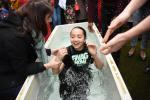 A Teenager Puts on Christ in Baptism