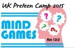 Preteen Camp 2015