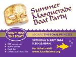 Singles Summer Masquerade Boat Party