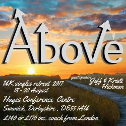 UK and IRELAND SINGLES RETREAT 2017 ABOVE