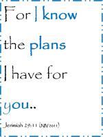 I HAVE PLANS FOR YOU a motivational workshop